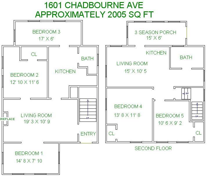 1601 Chadbourne (7 BR +)